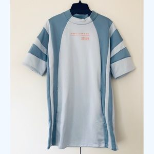 Adidas baby blue new with tags dress